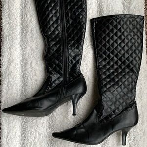 🔥3/$20 Black Boots heal size 8